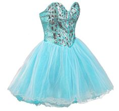 FairOnly Deep Vneckline Girl Homecoming Prom Dresses Stock Size 6 8 10 12 14 16