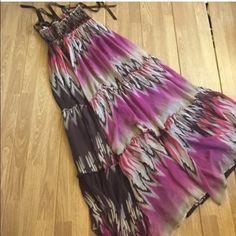 Bebe XSmall Maxi Aztec colors bebe Dresses Maxi
