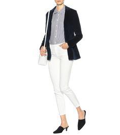 J Brand - Denise velvet blazer - mytheresa.com