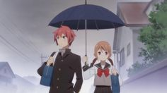 anime series like Tsurezure Children Anime Couples, Cute Couples, Yumeiro Patissiere, 2017 Anime, Tsurezure Children, Anime Summer, Manga Couple, Romance, Geek Out