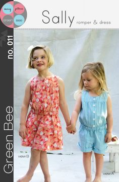Sally Romper and Dress | Green Bee Patterns