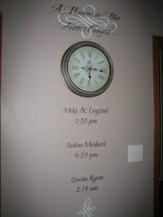 Another beautiful way to capture the time of your wedding and birth of your children with uppercase living.