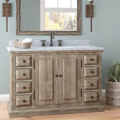 """You'll love the Arellano 48"""" Single Bathroom Vanity at Birch Lane - With Great Deals on all products and Free Shipping on most stuff, even the big stuff."""