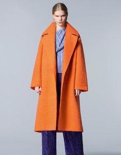 Roksanda wool/alpaca/mohair coat, £1,765
