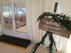 Creative family run wedding & events venue decor stylist, dresser and decor hire based in Central Scotland. Indoor Wedding Ceremonies, Wedding Ceremony Decorations, Inglewood House, Wedding Welcome Signs, Simple Weddings, Purple Wedding, Event Venues, Christmas Wedding, Wedding Events