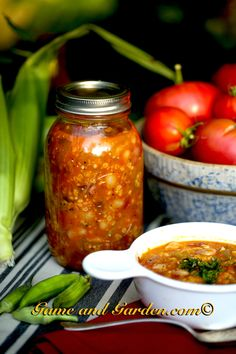 Granny's Homemade Soup is fantastic to can and have on hand during the cold months. You need a pressure canner for soups, fruits, and vegetables that are low in acid. www.gameandgarden.com #southernrecipes