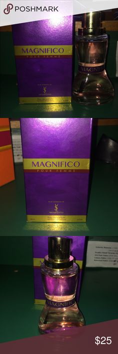 Women's Perfume Magnifico Pour Femme, Version Of YSL Manifesto. Brand new in box, comes with newly wrapped paper. Yves Saint Laurent Other
