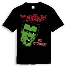 Meteors Shirt 100% Psychobilly Psychobilly, Piece Of Clothing, Tees, Mens Tops, Horror, T Shirt, Band, T Shirts, Tee