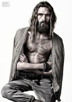 Anders Lindstroem. Styling with dirt. RELIVE MOOD #10 by Joseph Cardo (via Joseph Cardo)