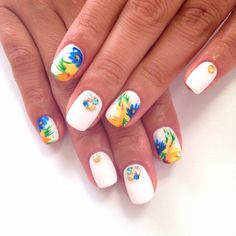 Colourful floral