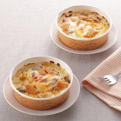 <青森>「いちご煮」から発想を得た、ビストロ特製のドリア。【港町八戸ドリア 雲丹と鮑のいちご煮仕立て】