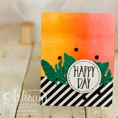 80's inspired cards for Fancy Friday using Botanical Blooms and Perfectly Wrapped stamp sets and Botanical Builder dies from Stampin' Up by Marisa Gunn.