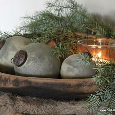 ▪ Home ▪ ▪ Home ▪ - Thanksgiving Decorations Primitive Christmas, Woodland Christmas, Nordic Christmas, Country Christmas, Christmas 2017, Christmas Projects, Vintage Christmas, Natural Christmas, Simple Christmas