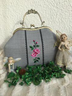 Crossstitch handbag Kreuzstich Tasche Etamin çanta