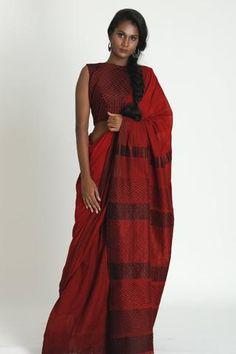 Designer Sarees – Fashion Market .LK Dusky Skin, Indian Fashion, Saree Fashion, Indian Skin Tone, Modern Saree, Fashion Marketing, Saree Styles, Beautiful Saree, Work Wardrobe