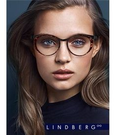 LINDBERG Eyeglasses Frame color: Tortoise and charcoal Lens size: Bridge size: Temple length: Fake Glasses, Cool Glasses, Girls With Glasses, Glasses Frames, Cute Sunglasses, Sunglasses Women, Vintage Sunglasses, Lunette Style, Eyewear Trends
