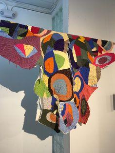 Image result for quilt national 2017 Barn Art, Textile Art, Fiber Art, Circles, Beading, Dairy, Quilting, Fabrics, Textiles