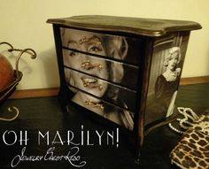 Jewelry Chest Makeover