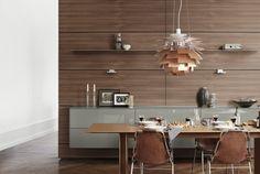 La mesa bulthaup c3 invita a relajarse y disfrutar. La esbeltez del material y la acentuación de las líneas horizontales realzan su ligereza.