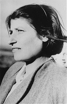 """Although Zivia Lubetkin left Poland before the outbreak of World War ll, she returned in 1940 to become a leading personality in the Jewish underground of the Warsaw Ghetto. A member of the Underground High Command, Zivia's name was used in all underground correspondence of the time as the code word for Poland."""