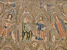 The Toledo Cope (detail), 1320-30, England. © Toledo, Tesoro de la Catedral, Museo de Tapices y Textiles de la Catedral