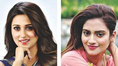 Nusrat Jahan will be contesting from Basirhat, which is widely expected to be a tough seat. Meanwhile, Mimi Chakraborty will be trying her electoral luck from Jadavpur, where the Left retains a significant vote bank. Girl Face Drawing, Acting Career, Arts And Entertainment, Indian Beauty, Bollywood, Actresses, Entertaining, Album, People