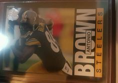 2015 Topps 60th Anniversary Throwbacks Antonio Brown T60-AB Pittsburgh Steelers in Sports Mem, Cards & Fan Shop, Cards, Football | eBay