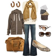 leopard shoes, weekend outfit, color, flat, comfy casual