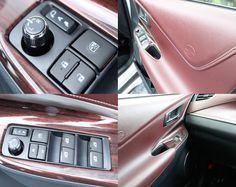 TOYOTA 新型ハリアーのインテリア。 ドアパネル側のスイッチ類です。サイドミラーの角度調整用の摘みが欧米車風でオシャレ! http://bloooger.jp/harrier_interior/ #ハリアー #自動車 #SUV