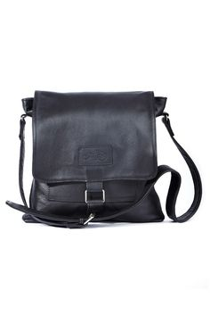 All women need an everyday soft black leather sling bag.