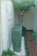 Resultado de imagem para decoração fontes jardim