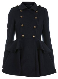 Since the military jacket has made a come back this fall, why not do it in a girlie fashion?!