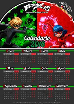 Que calendario más cool