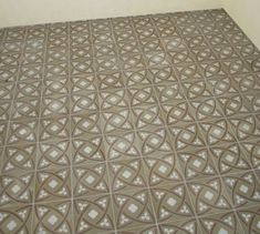 Client installation with David & Goliath cement tiles Gustave Chocolate 20x20cm David And Goliath, Timeless Classic, Cement Tiles, Chocolate, Rugs, Pattern, Design, Home Decor, Farmhouse Rugs