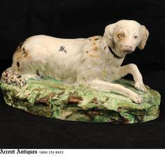 English Staffordshire Dog 19th century