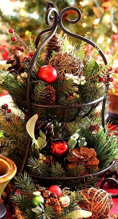 Christmas centerpiece...