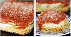 Cheesy Spaghetti Casserole!!