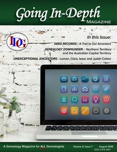 August Brings a New Issue of the Magazine and Special Sale for FGS http://theindepthgenealogist.com/august-brings-a-new-issue-of-the-magazine-and-special-sale-for-fgs/ #genealogy #indepthgen