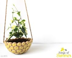 Hanging Dots- Yellow by Songs of Summer  Price Rs 585 plus shipping