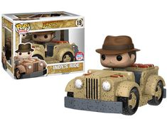 NYCC 2016 Wave 5 - Pop! Rides: Indiana Jones Adventure