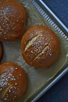 Gluten Free Bread: Soft Pretzel Rolls I've made these as hamburger rolls, hot dog rolls and bread sticks with dipping sauce. Fabulous!