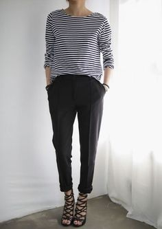 Stripes and trousers