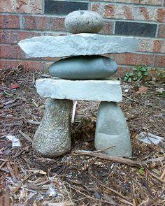 Landscaping With Rocks, Stone Cairns, Design Plat, Rock Sculpture, Japan Garden, House Landscape, Garden Stones, Zen, Stone Art