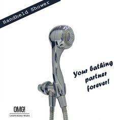 Niagara Chrome Handheld massage shower head! Check out more details:  http://goo.gl/XyZKL1  #showeraccessories #handheldshower #bathroomdesigns