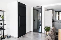 Inspiratie - GewoonGers Steel Doors, Door Design, Tall Cabinet Storage, Living Room, House, Furniture, Home Decor, Modern, Decoration Home