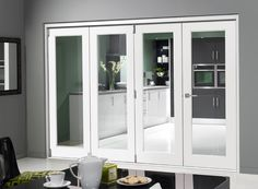 Finesse White 10ft Internal Bifold Doors from https://www.vufold.co.uk