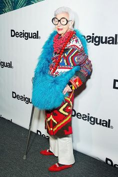 10 Holiday Party Accessory Ideas From Iris Apfel | WhoWhatWear