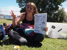 Andriana learning how to run Discover Scuba Divings during here Internship at Abyss Scuba Diving...