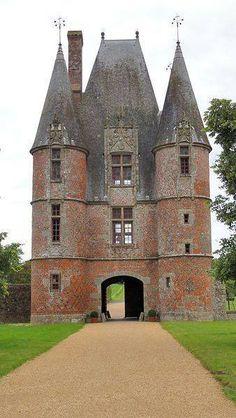 Chateau Sewarlock Chaumont-sur-Loire Francia.