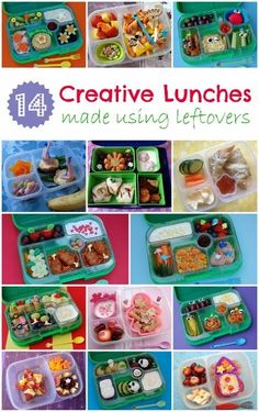 Eats Amazing UK - 14 Creative kids packed lunch ideas to use up your leftovers